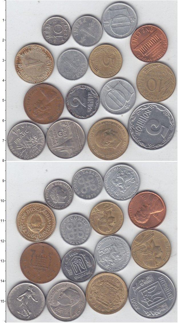 Изображение Лоты монет для начинающих нумизматов Монеты стран мира Лот №01296 0