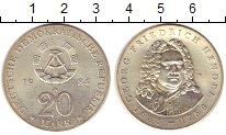 Изображение Монеты ГДР 20 марок 1984 Серебро UNC-