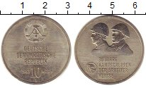 Изображение Монеты ГДР 10 марок 1983 Медно-никель UNC-