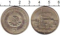 Изображение Монеты ГДР 5 марок 1989 Медно-никель UNC- Церковь Святой  Мари