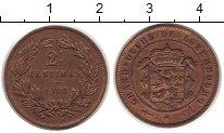 Изображение Монеты Люксембург 2 1/2 сентима 1908 Медь XF