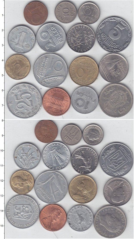 Изображение Лоты монет для начинающих нумизматов Монеты стран мира Лот №01314 0