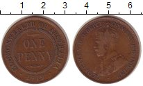 Изображение Монеты Австралия 1 пенни 1919 Бронза VF Георг V