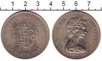 Изображение Монеты Великобритания 25 пенсов 1972 Медно-никель UNC