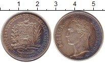 Изображение Монеты Венесуэла 1 боливар 1960 Серебро XF