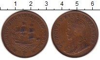 Изображение Монеты ЮАР 1 пенни 1934 Бронза XF