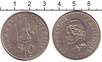 Изображение Монеты Новая Каледония 50 франков 1967 Медно-никель XF