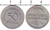 Изображение Монеты Веймарская республика 50 пфеннигов 1919 Алюминий XF D