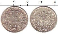 Изображение Монеты Германия 1/2 марки 1912 Серебро XF