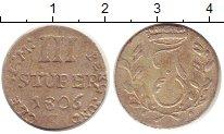 Изображение Монеты Берг 3 стюбера 1806 Серебро XF