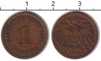 Изображение Монеты Германия 1 пфенниг 1902 Медь XF