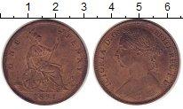 Изображение Монеты Великобритания 1 пенни 1891 Бронза XF+