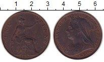Изображение Монеты Великобритания 1 пенни 1896 Бронза XF+