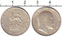 Изображение Монеты Великобритания 1 шиллинг 1910 Серебро UNC-