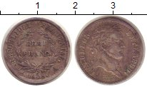 Изображение Монеты Франция 1/2 франка 1808 Серебро VF Император Наполеон I