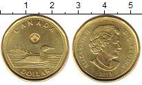 Изображение Монеты Канада 1 доллар 2013 Латунь UNC-