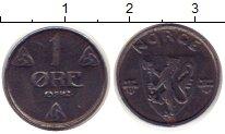 Изображение Монеты Норвегия 1 эре 1942 Железо XF