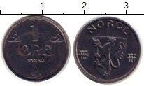 Изображение Монеты Норвегия 1 эре 1924 Железо XF