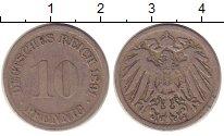 Изображение Монеты Германия 10 пфеннигов 1894 Медно-никель VF