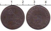 Изображение Монеты Венгрия 20 филлеров 1918 Железо VF номинал - корона Св.