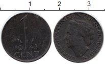 Изображение Монеты Нидерланды Нидерланды 1948 Бронза XF