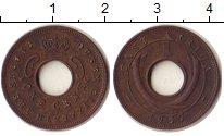 Изображение Монеты Восточная Африка 1 цент 1957 Бронза XF