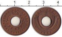 Изображение Монеты Восточная Африка 1 цент 1955 Бронза XF Елизавета II