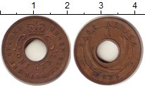 Изображение Монеты Восточная Африка 1 цент 1956 Бронза XF