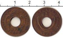 Изображение Монеты Восточная Африка 1 цент 1942 Бронза XF Георг VI