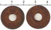 Изображение Монеты Восточная Африка 1 цент 1924 Бронза VF Георг V