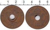 Изображение Монеты Великобритания Восточная Африка 10 центов 1936 Бронза XF