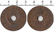 Изображение Монеты Великобритания Восточная Африка 10 центов 1950 Бронза XF