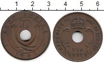Изображение Монеты Восточная Африка 10 центов 1941 Бронза XF