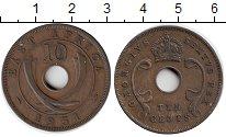 Изображение Монеты Великобритания Восточная Африка 10 центов 1951 Бронза XF