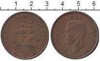 Изображение Монеты ЮАР 1 пенни 1940 Бронза XF