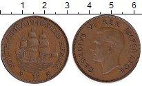 Изображение Монеты ЮАР 1 пенни 1946 Бронза
