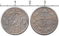 Изображение Монеты Нидерланды Нидерландская Индия 1/4 гульдена 1941 Серебро XF