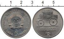 Изображение Монеты ГДР 5 марок 1990 Медно-никель UNC-