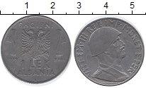 Изображение Монеты Албания 1 лек 1939 Железо XF Виктор  Эммануил III