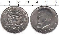 Изображение Монеты США 1/2 доллара 1973 Медно-никель XF+