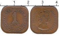 Изображение Монеты Малайя 1 цент 1961 Бронза XF+