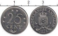 Изображение Монеты Антильские острова Антильские острова 1971 Медно-никель UNC-