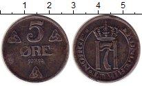 Изображение Монеты Норвегия 5 эре 1919 Железо XF
