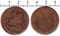 Изображение Монеты 1741 – 1761 Елизавета Петровна 2 копейки 1761 Медь