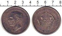 Изображение Монеты Австралия 1 крона 1937 Серебро VF Георг VI.