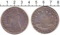 Изображение Монеты Боливия 8 солей 1837 Серебро VF