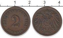 Изображение Монеты Германия 2 пфеннига 1914 Бронза XF
