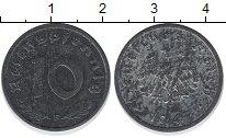 Изображение Монеты Третий Рейх 10 пфеннигов 1947 Цинк UNC-
