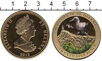 Изображение Монеты Остров Святой Елены 25 пенсов 2013 Медно-никель UNC