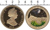 Изображение Монеты Остров Святой Елены 25 пенсов 2013 Медно-никель UNC Елизавета II.  Цветн